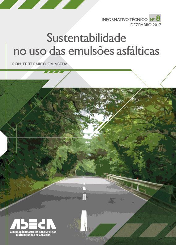 Sustentabilidade no Uso das Emulsões Asfálticas Nº 8
